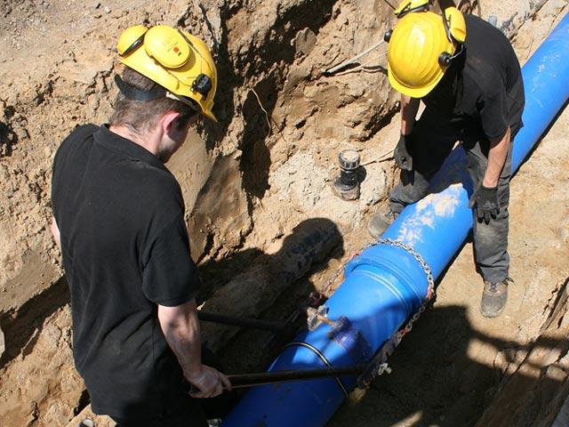 Infra-aanleg brandblusnet